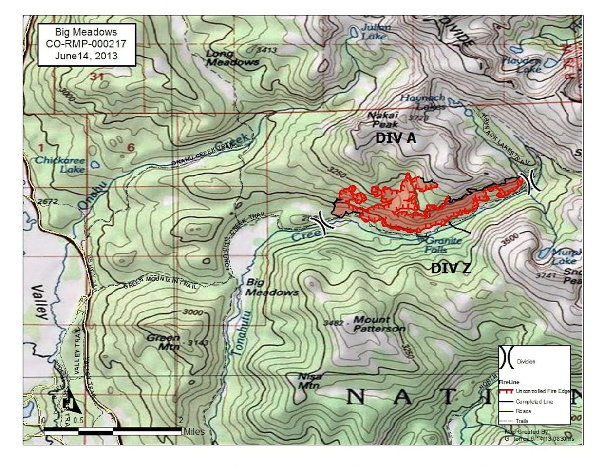Grand Lake Fire Map.Rocky S Big Meadows Fire Now 30 Percent Contained Skyhinews Com