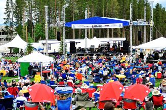 The 12th Annual Blues From the Top festival returns to Hideaway Park in Winter Park on Saturday, June 28, and Sunday, June 29.