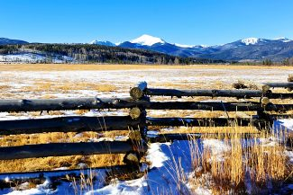 The Byers Peak Ranch property outside of Fraser.