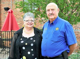 Sherry and Jim Campbell are both retiring this week from working for Grand County.  Sherry after 19 years in the Assessor's Office and Jim after 20 years in the Sheriff's Office.