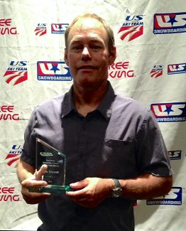 Dan Studer, a coach with the Winter Park Freestyle Team, was named Freestyle Coach of the Year by the U.S. Ski and Snowboard Association at a presentation on Friday, May 16, in Park City, Utah.