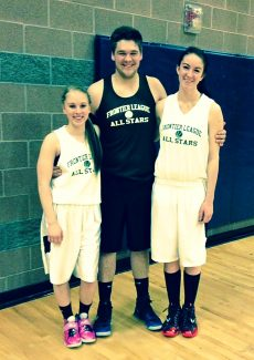 Middle Park's Hailley Pedersen, Jace Linke and Erin O'Connor were invited to play in the Frontier League All Star Games. The games were held at Academy High School in Westminster this past Saturday. Organizers divided the league into east and west and selected the 15 best players from each division to play in this game. Both the boys and girls games were closely matched contests only decided by a few points at the final buzzer. It should also be noted that former coach Cheri Amos-Helmicki, through her company, AL Stryder, donated all the players' uniforms.