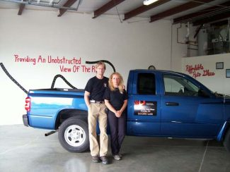 Scott and Jana Stanley recently opened Affordable Auto Glass in Granby.