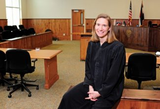 District Court Judge Mary Hoak