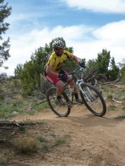 Get your body and bike ready for mountain bike season while you wait for area trails to dry