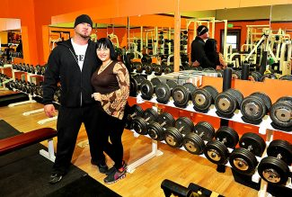 Rob and Karen Munro in their new Mountain Beast Fitness Center in Granby.