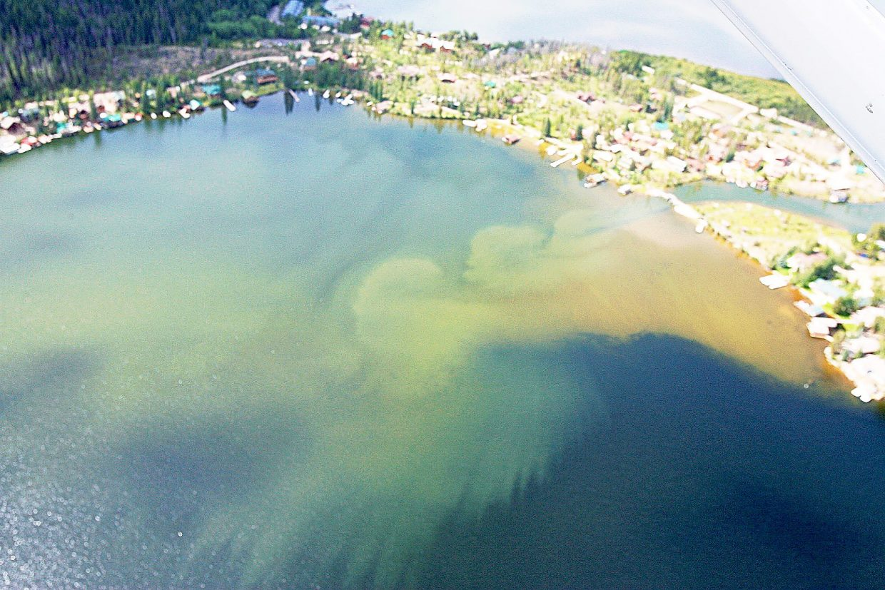 Grand Lake Clarity Issue Stirs Up Fishing Conflict Skyhinewscom