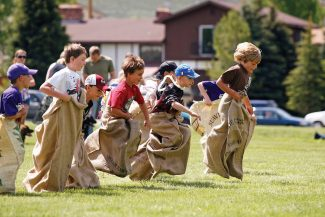 A variety of kids' games will be on tap at the annual Hot Sulphur Days on June 8 in Hot Sulphur Springs.  Byron Hetzler/Sky-Hi News file photo
