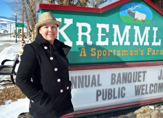 Christine Mahorney is the new executive director of the Kremmling Chamber of Commerce