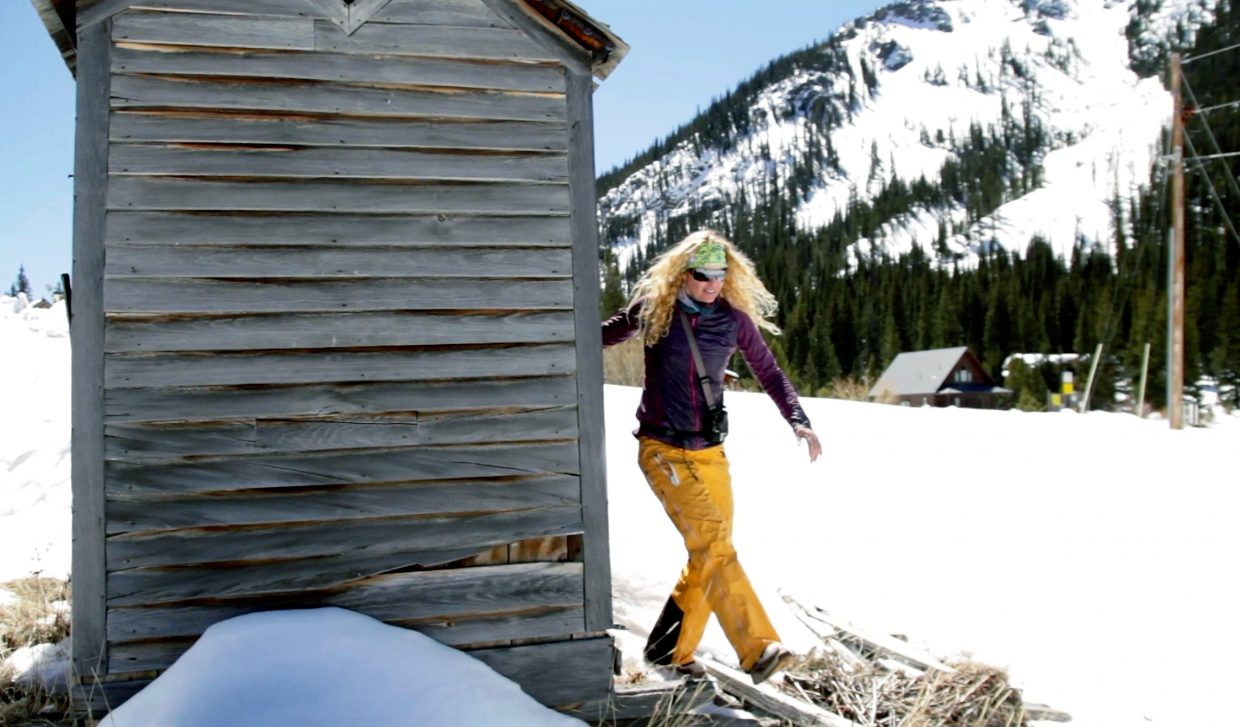Montezuma today is home to old mining cabins, decrepit homesteads, a lone Main Street and, of course, outhouses. If you don't mind postholing to the loo the view can't be beat.