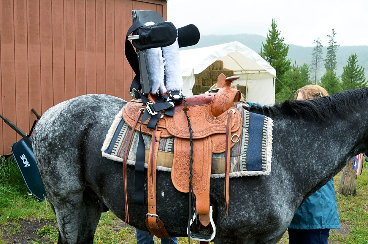School Of Mines Nscd Develop New Saddle For Adaptive