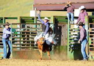 Tthe Flying Heels Rodeo kicks off its 2015 season at 7 p.m. on Friday, June 12, in Granby. The junior rodeo starts at 3 p.m.
