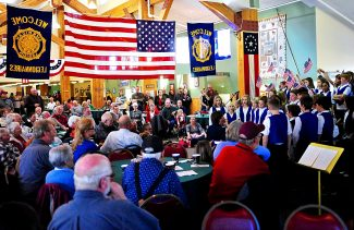 The Granby Elementary School Minnesingers perform during the annual Grand County Veterans Day Breakfast at Snow Mountain Ranch on Monday morning, Nov. 11.