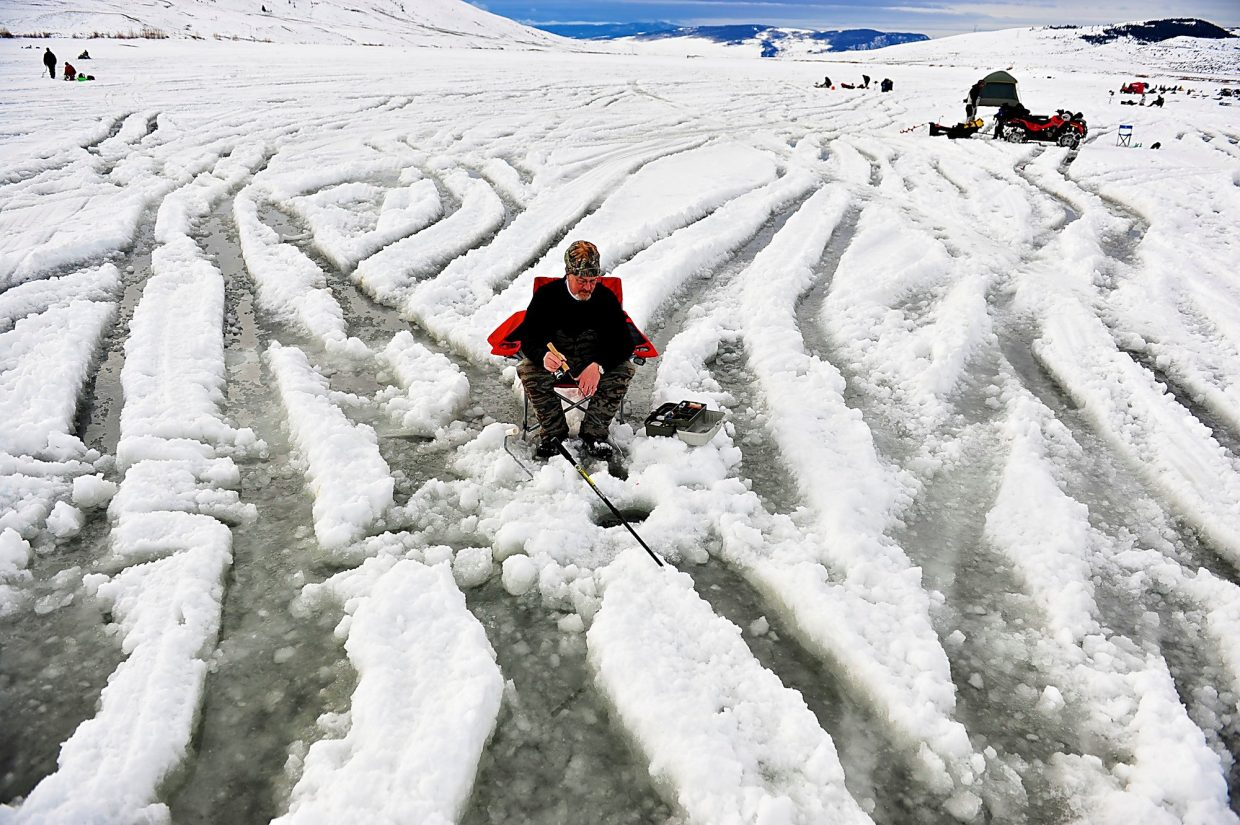 Ice fishing tournament returns to wolford mountain for Ice fishing tournament