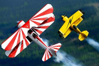 See planes such as these on display on Friday, June 6, at the Kremmling Airport.
