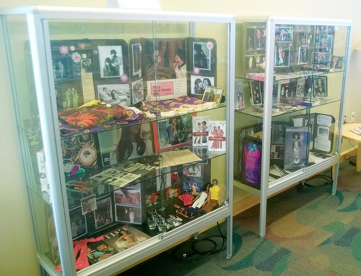 ad1e4a35e62 Sonny and Cher collection at Granby Library | SkyHiNews.com