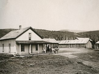 Billy Cozens, a Fraser pioneer, is one of the few individuals to have three buildings today on the National Historic Registry.