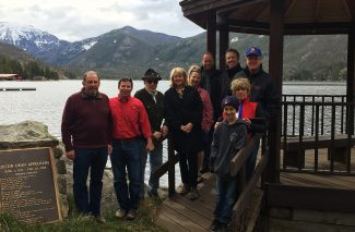 The Granby Lake Rotary renovated the Grand Lake Town Gazebo in May. The gazebo was built in honor of Justin Appelhans who died in 1989. Members of the Grand Lake Rotary and others who helped with the project: