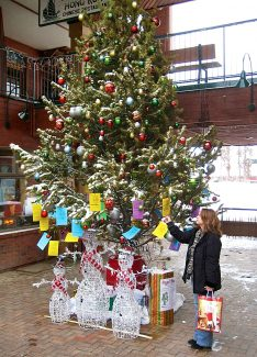 The Angel Tree at Cooper Creek Square is one of many charities available to people looking to give back to others this holiday season.