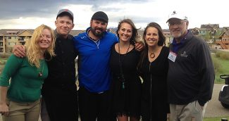 From right to left:  Mike Ritter, Sara Weimer , Korinne Rondeau , Austin Anderson, Jeff Swayze , Becky Groner.