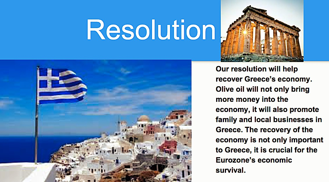 solving the greece debt crisis Due to the sovereign debt crisis in europe greece faced the problems of  ballooning deficits, rising interest payments and the prospect of having to default  or.
