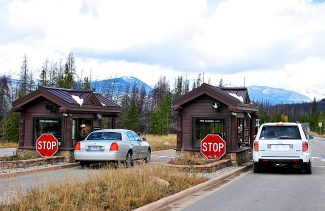 Rocky Mountain National Park set a record for the number of visitors in a year in 2014.