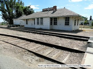 The historic Great Western Depot, currently located in Loveland, will be relocated this summer to Granby and converted into a rail museum.