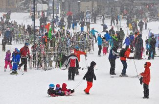 Snowfall in December helped to boost Winter Park-area lodging revenues and occupancy rates.