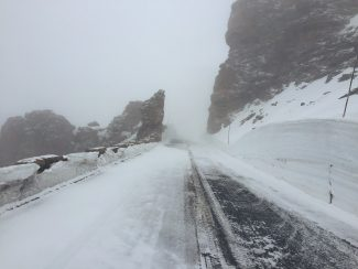 Trail Ridge Road in Rocky Mountain National Park near Rock Cut on Friday, May 27.