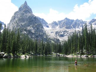 Mirror Lake, at the base of Lone Eagle Peak, is a favorite spot for campers visiting Indian Peaks Wilderness. Permits for camping are required during the peak seasons, June 1 to Sept. 15 and can be obtained from the Sulphur Ranger District in Granby.