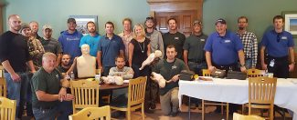 Members of the Grand County Builders Association join together for First Aid and CPR Training on Friday, September 16.