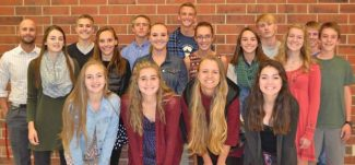 Some of the members of the MPHS Cross Country Team. The team is heading to Regionals in Delta on Friday, October 21.