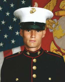 Private Dustin Horn, formerly of Granby, graduated from United States Marine Corps boot camp on Oct. 21.