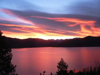 Reader submitted photo of Lake Granby on Oct 21.