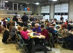 This photo, taken in 2015, shows a large group of local citizens participating in last year's Grand Fire Protection District Turkey Bingo event.