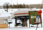 The Quickdraw Express remains closed at Ski Granby Ranch on Tuesday, Jan. 3.