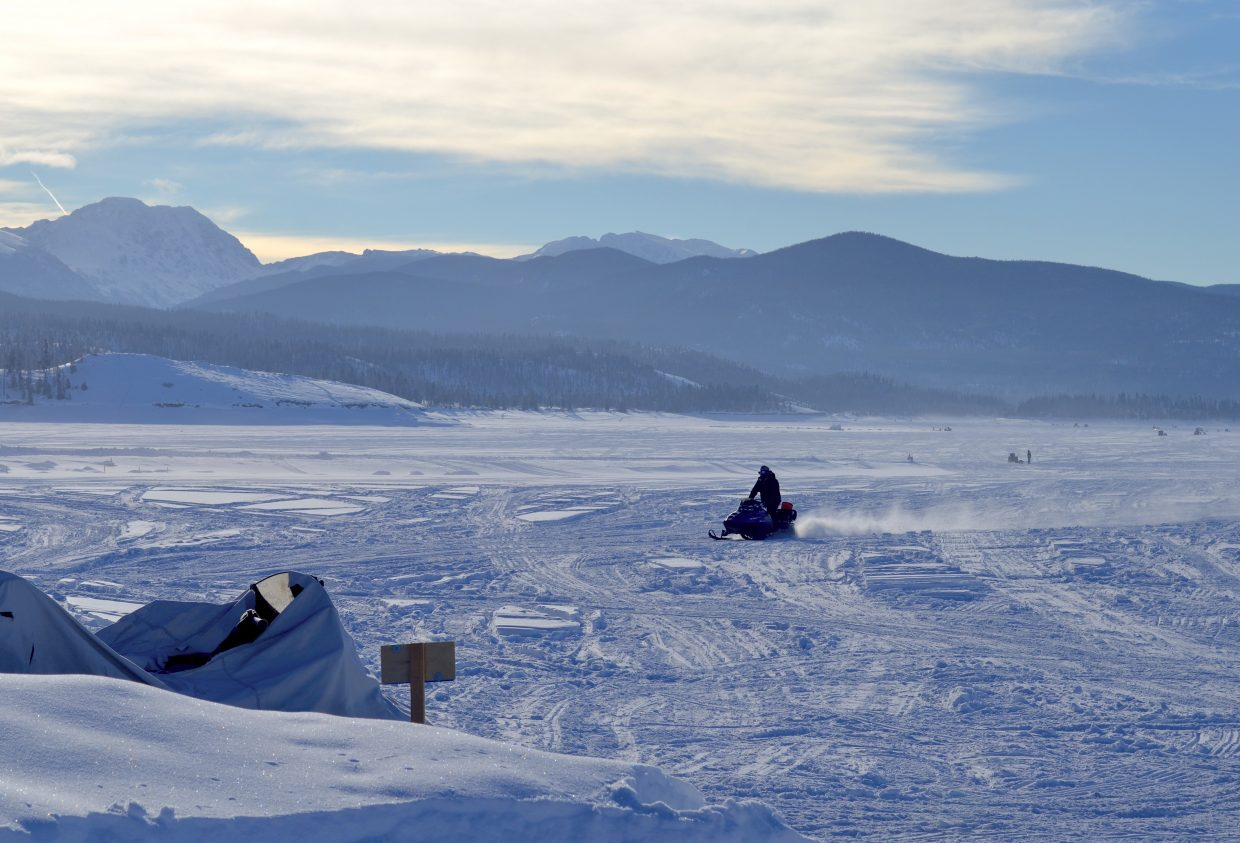Granby chamber wraps up another successful three lakes ice for Lake granby fishing report