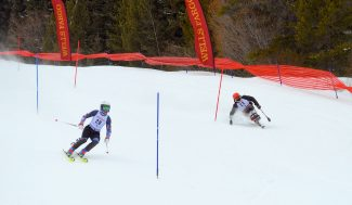 Cold temps, blustery wind mark third day of Wells Fargo Ski Cup