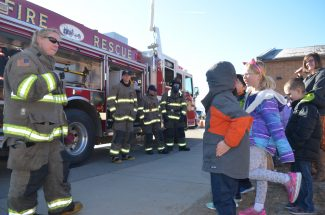 PHOTO GALLERY: Elementary students explore career paths through equipment
