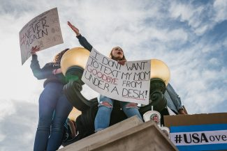 Photo gallery: Grand County residents join hundreds of thousands gathering in Denver for March for Our Lives