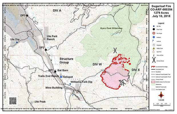 Fires Colorado Map.Additional Crews Join Sugarloaf Fire Fight Skyhinews Com