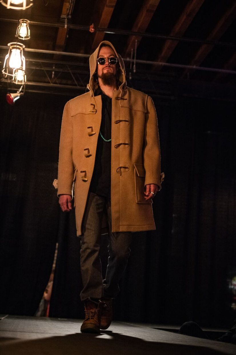 Winter Park Trading Company and Changes, two local second-hand stores, were featured on the runway.