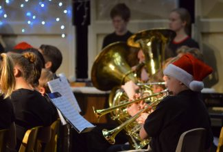 Sounds of the season: East Grand students hold Holiday Band Concert