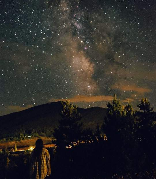 Sept. 8: Stargazing last week at Snow Mountain Ranch looks pretty spectacular. @kennywanders / Instagram