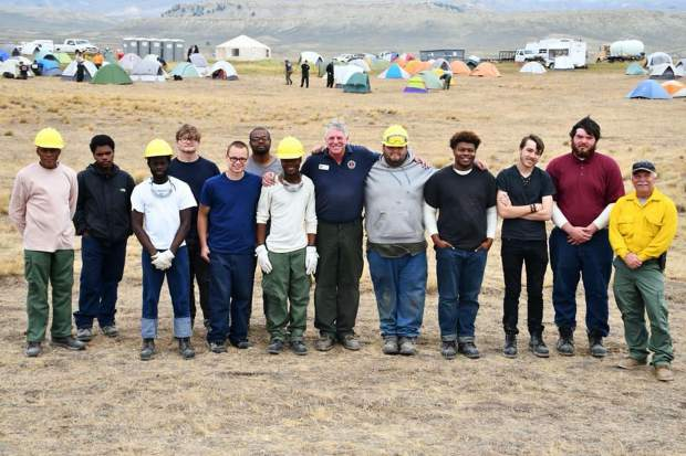 Aug. 19: Meet the backbone of the Silver Creek Fire Incident Command. They support crews with supplies, tools, and services. One group is from Frenchburg Job Corps Civilian Conservation Center and another from Great Onyx Job Corps Civilian Conservation Center.