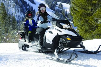 Unique territory contributes to Grand County's vast snowmobiling industry