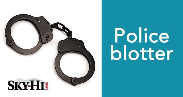 Grand County police blotter, Jan  3-6: Crashing a stolen vehicle