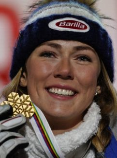 Vail's Mikaela Shiffrin four-peats in worlds slalom