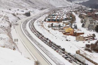 I-70 motorists could soon need snow tires, chains or AWD all winter long