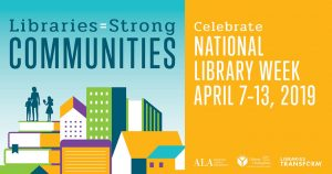 Library Corner: Libraries = strong communities